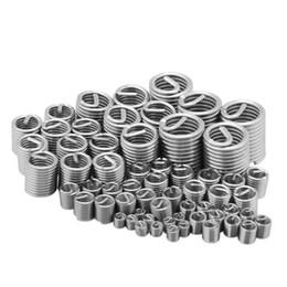 60pcs / lot fil fil insert douille vis douille en acier inoxydable M3-M12 réparation insert kit attachement outils de connexion ? partir de fabricateur