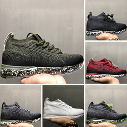 Wholesale Court Force - With Box 2018 New Boost & Aircushion Casual Shoes Super Elastic Force Full Palm Aircushioned Built-in Boost Knit Casual Sneakers