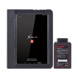 Comprimido opel on-line-Lançamento X431 V + Wifi Bluetooth Tablet Sistema Completo Auto Scanner OBD2 Codificação ECU Ferramenta de Verificação de Diagnóstico Multi-Idioma