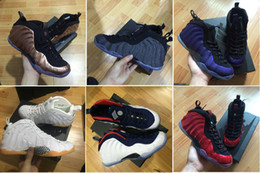 Wholesale galaxy men basketball shoe - [with box ]Mens Penny Hardaway Galaxy One 1 Men Basketball Shoes Olympic Running Shoes Sneakers Olympic Training Sports Shoes 41-47