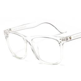 2020 montures pour verres correcteurs Spectacle Frame Vintage Femmes Hommes Lunettes Ordinateur Sur ordonnance Myopie Optique pour Femme Eyewear Clear Lens Glasses montures pour verres correcteurs pas cher