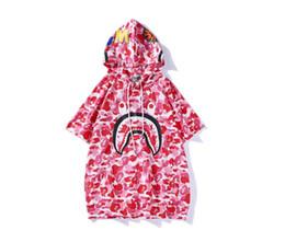 Animali da camuffamento online-Casual T Shirt Estate Uomo Animale Stampato Skateboards T-Shirt 100% Cotone Estate Camouflage Stile Manica Corta T Cauto Trasporto Libero