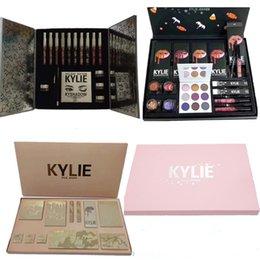 Wholesale Box Mixes - Dropshipping Kylie Jenner kit Vacation Edition Bundle Holiday Halloween I Want It All Birthday Collection Big Box Makeup Set Cosmetics