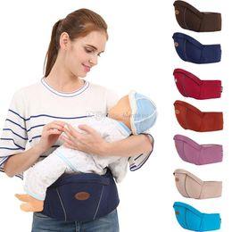 Porte-bébé pour nouveau-né taille tabouret Kangaroo Bretelles Multifonction  Infantile Sling Hold Backpack Enfants Hip Seat C5012 sac à dos hip-hop    vendre e8fb15ad291