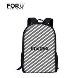 2019 willkommene mädchen FORUDESIGNS Willkommen Kundenspezifische Schultaschen für Jungen Satchel Schoolbag Schulrucksack für Mädchen Kinder Orthopädische Studenten Bookbag Y18110107 günstig willkommene mädchen