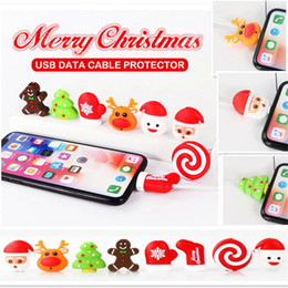 Cute Cartoon Usb Charger Cable Winder Protective Case Earphone Cord Sleeve Wire Cover Data Line Protector For Iphone 7 8 Plus Attractive And Durable Digital Cables Cable Winder