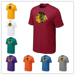 News Chicago Blackhawks Ice hockey T-shirt for men and women In the spring  and autumn Offset printing free shipping 4c6070523