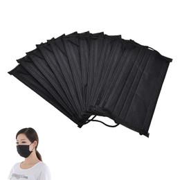 10 шт./упак. анти-пыли Велоспорт лицо одноразовые маски 4 слоя медицинские стоматологические Earloop активированного угля хирургические маски от