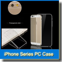 Wholesale Apple Iphone 4s For Sale - On Sale Slim Transparent Crystal Clear Hard PC Shell Skin Cover Case for iPhone X iPhone 8 7 6 4.7 inch iPhone6 Plus 5 5S 5C 4 4S