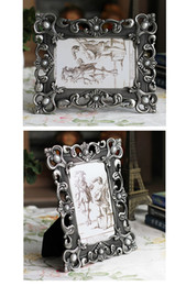 Wholesale Bamboo Picture Framing - x6 inch Classical Desk & Counter Metal Plated Wedding Photo Picture Framing for Home & Office DecorsZI-429