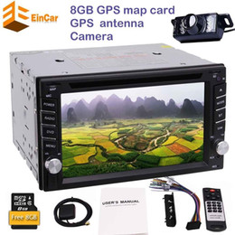Wholesale View Screen - Backup camera+2din autoradio in dash car CD DVD player headunit double din gps radio stereo auto tactics car dvd pc radio auto Bluetooth