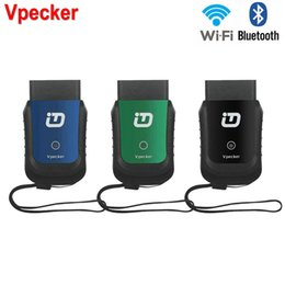 Wholesale obd2 wifi bluetooth - Wholesale-Car Diagnostic Tool Vpecker EasyDiag V9.8 OBD 2 Wifi Bluetooth Full System OBD2 Automotive Scanner for America Europe Asia cars