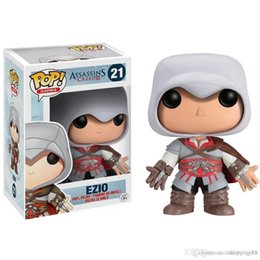 2019 presente do credo dos assassinos Funko POP Assassins Creed Ezio Action Figure Modelo presente T70 desconto presente do credo dos assassinos