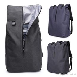 Nuevo bolso de la computadora mochila de negocios de viaje 2018 mochila de los hombres de moda mochila impermeable ocasional paquetes de la cintura táctica desde fabricantes