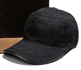 Wholesale Luxury Hats For Women - 2018 brand design 100% Cotton Luxury Caps Embroidery Fashion hats for men casual bone snapback baseball cap women visor gorras casquette hat
