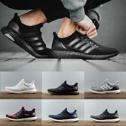 Wholesale Online Running Shoes - Ultra 4.0 Triple White black CNY Running Shoes Ultra Women Men Run Shoes Sports Trainers Ultra Sneaker eur 36-45 online