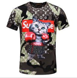 Wholesale mens v necks t shirts - new arrival Men slim fit cotton t shirts summer fashion brand T-shirt Mens V-neck Short sleeve shirts patchwork color tee B09