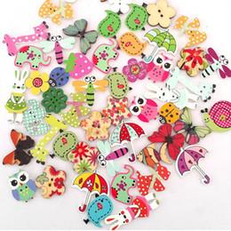 accessori per cucire bottoni di fiori Sconti