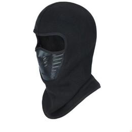 máscara de sombrero de sol de hombres Rebajas Motocicleta Pasamontañas Máscara Facial Calentador A Prueba de Viento Respirable Airsoft Paintball Ciclismo Esquí Escudo Anti-UV Hombres Sombreros de Sol Casco