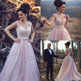 e303e6c6144 Exquisite 3D Floral Flower Dubai Evening Dresses Pink Beads Celebrity  African Arabic Long Party Prom Dresses Gowns Formal Robe De Soiree