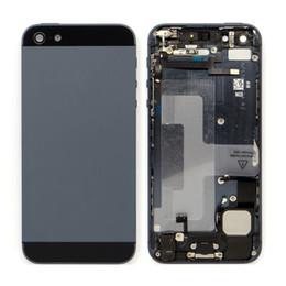 IPhone 7 ARTı 6 6 s Artı 5 s 5 Yeni Yedek Arka Pil ile Metal Konut Case Kapak Parçaları ve Aksesuarları supplier iphone replacement parts back nereden iphone yedek parça geri tedarikçiler