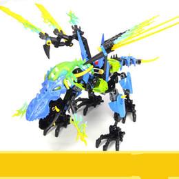 Nouveaux blocs de construction assemblés hero fabrique 5.0 tonnerre dragon 10389 jouets éducatifs de lumières pour enfants ? partir de fabricateur