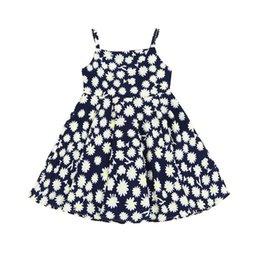 Девочка суспендер юбка цветочные Дейзи печатных платье дышащий прохладный колен летняя юбка с плечевыми ремнями брекеты юбка от