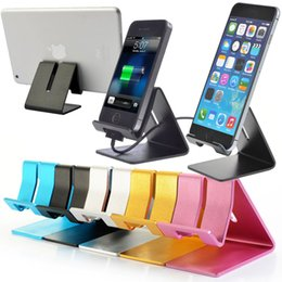 Soporte de escritorio de aluminio universal del soporte del soporte de escritorio para el teléfono celular y la tableta desde fabricantes