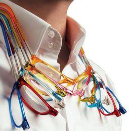 Складывающиеся очки для чтения онлайн-100pcs Fashion Folding Magnets magnifying reading glasses magnetic Front Connect unisex eyeglasses hang folding quality reader with degree