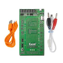 Circuito di carica della batteria online-Kaisi Phone Battery Activation Board Piastra di ricarica USB Cable Jig per iPhone 4 5 6 7 VIVO Huawei Samsung xiaomi Circuit Test