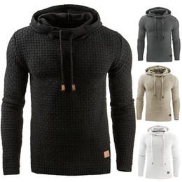 Sudaderas con capucha online-Europa y los Estados Unidos otoño casual con capucha con capucha caliente Sudadera chaqueta chaqueta abrigo suéter