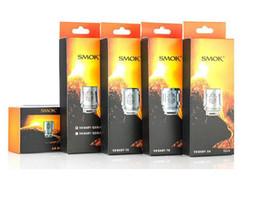 Wholesale smok coils - Original Smok TFV8 Coil Head V8 Baby Q2 X4 V12-Q4 V8-T8 Baby-M2 0.15ohm 0.25ohm 0.4ohm 0.6ohm Replacement Atomizer Coils