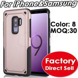 2019 iphone s6 nuevo pc Caja híbrida del teléfono de la armadura Cajas resistentes del defensor para el iphone xr xs máximo 8 7 6 x para la galaxia de Samsung J4 J6 J8 2018 nota9 s8 s8plus s9