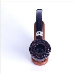 Cerâmica velha on-line-Nova escultura em cerâmica pesada, cano Ruili, martelo de resina antigo, acessórios de encaixe para cachimbo.
