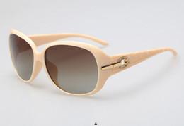 6044f66b2c Luxury Women Polarized Sunglasses 6214 Retro Eyewear Oversized Goggles  Eyeglasses nice engraved temple Round Shape 5 Color Option