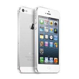 Wholesale apple storage - Original iPhone 5 Touch ID 16GB Storage GPS WIFI Dure Core 4.0 Screen Refurbished Cell Phones