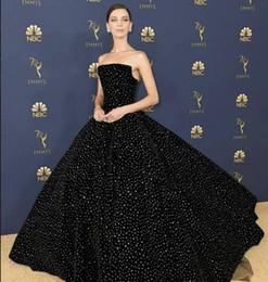 Robe de soirée robe longue sans manches en cristal tulle robe de bal noire moderne classique approprié pour toutes les tailles ? partir de fabricateur