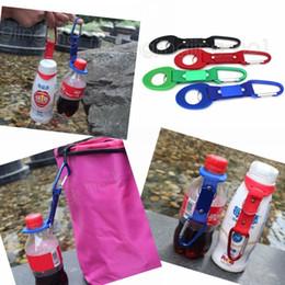 Wholesale key ring holder belt clip - Buckle Hook Water Bottle Holder Clip Climb Carabiner Belt Backpack Hanger Camp Key ring Multifunction Outdoor DDA566