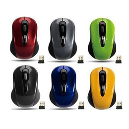 Wholesale Usb Mouse Small - Mini Small USB Wireless Mouse Optical Cordless Mice for Laptop Notebook PC QJY99