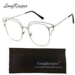 3bae28e4a44 Plain Eyeglass Frames Vintage Eye glasses Clear lens Optical Glass for Women  Men Retro Frame gafas armacao oculos de grau KS8056