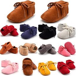 Canada Bébé Mocassin Automne Été Chaussures Semelles Souple Bottes Chaussures Casual Toddler Infant Nouveau-Né Bébé Filles Garçons cheap infant summer boots Offre