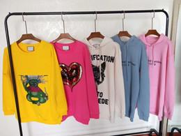 Deutschland Gute Qualität Frauen oder Mann Sweatshirt Wintermode Marke Männer Hoodies vier Katzen Baumwolle weibliche Pullover Womens Crewneck Sweatshirt cheap womens cat sweatshirts Versorgung