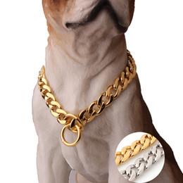 Paslanmaz Çelik Pet Köpek Zincir Yavru Orta Köpekler Yaka NK Zincirler Hayvan Boyunları Zincirler Köpek Araçları Aksesuarları 11mm 10 Boyutları nereden