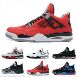 f8a41379008 men air retro Desconto Nike Air Jordan 4 Retro de Alta Qualidade 4 Sapatos  de Basquete