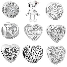 Livraison gratuite MOQ 20pcs argent perle Bella meilleur maman vie arbre famille charme de coeur ajustement Original Pandora Bracelet Bracelet DIY Bijoux N084 ? partir de fabricateur