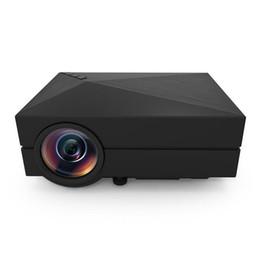 Canada 2018 GM60A GM60 Mini LCD LED Projecteur 1000LM 800 x 480 Pixels Prend en charge 1080 P HD Projecteur Projecteur de Cinéma Maison Offre