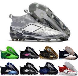 2019 venda de botas de futebol frete grátis 2017 Moda ACE 17 + Purecontrol FG Futebol Sapatos Venda Quente Dos Homens de Futebol Sapatos 2017 Novos Botas de Futebol dos homens Baratos Frete Grátis Tamanho 39-45 venda de botas de futebol frete grátis barato