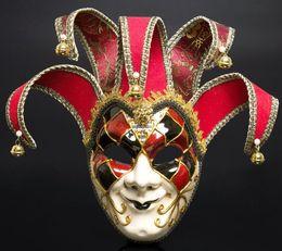 Produttori di palle di natale online-Festa festa di Natale masquerade palla Italia Venezia faccia intera anti-antica maschera vendita diretta produttore