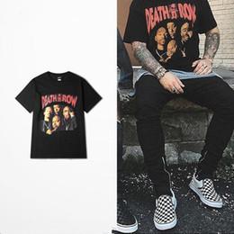 Death punk online-2018 Death push Camiseta de punk rock Hombres West Coast Skateboard High Road Drake 2pac camiseta divertida Camiseta hip hop Street Wear Camiseta superior