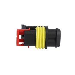 Versiegelter elektrischer steckverbinder online-Neuheiten !!! Auto Connector Plug Auto Part Kit Wasserdicht versiegelter elektrischer Draht